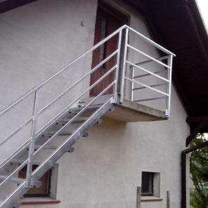 stopnie schodowe z krat pomostowych