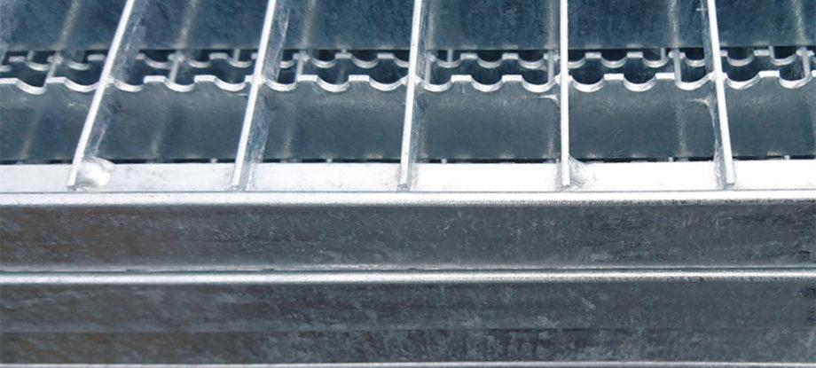 Kraty prasowane serrated ocynk