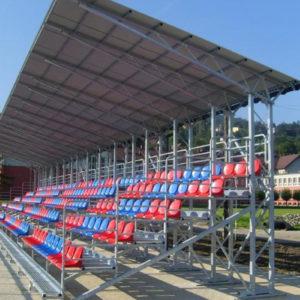 Kraty pomostowe stadion trybuny