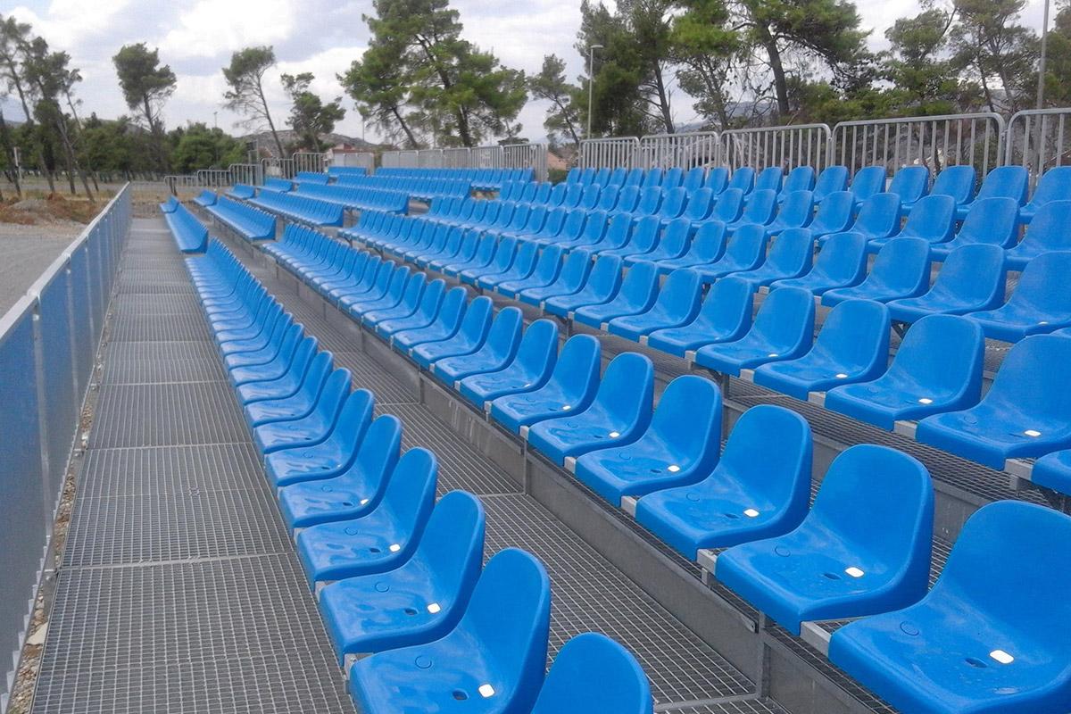Kraty pomostowe stadion piłkarski